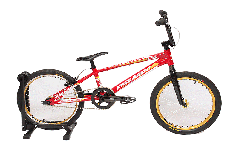 2016 Free Agent Teen Limo BMX
